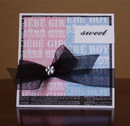 Sweettwinscard